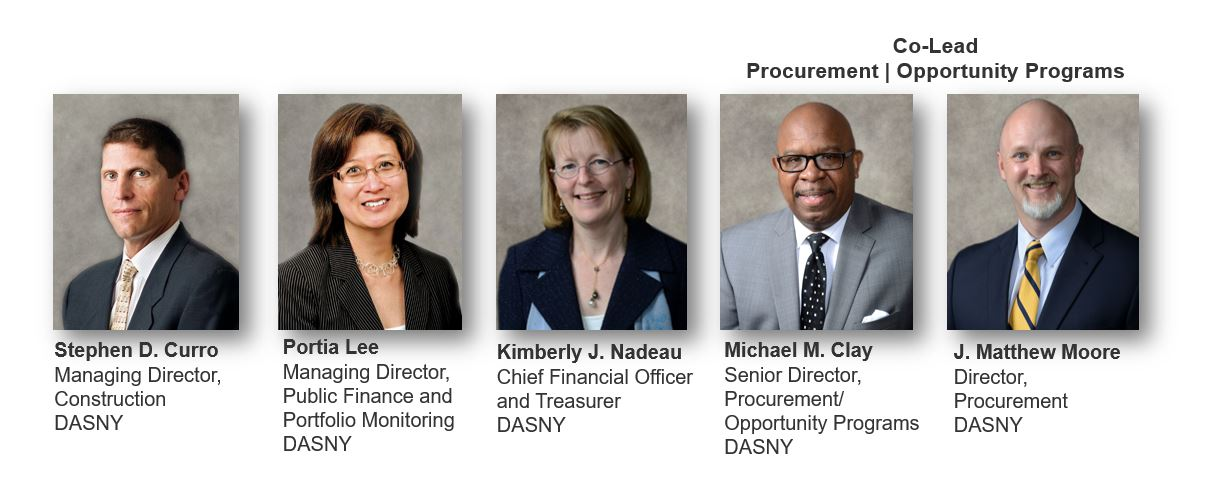 DASNY client services team