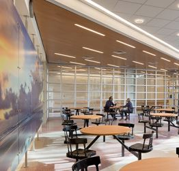 DASNY provides interior design services for higher education facilities