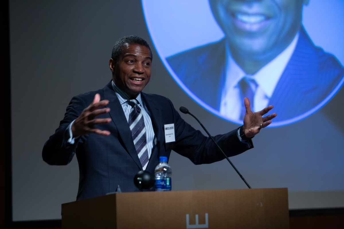 Dr  Bushell Addresses Higher Education Forum | DASNY