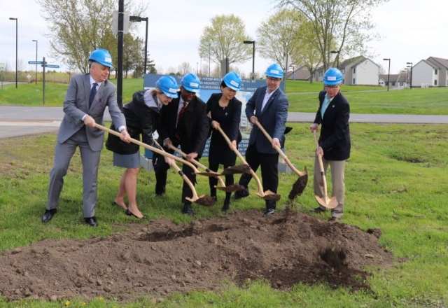 Ground breaks for new zero-net energy-ready dorm at SUNY Poly in Utica